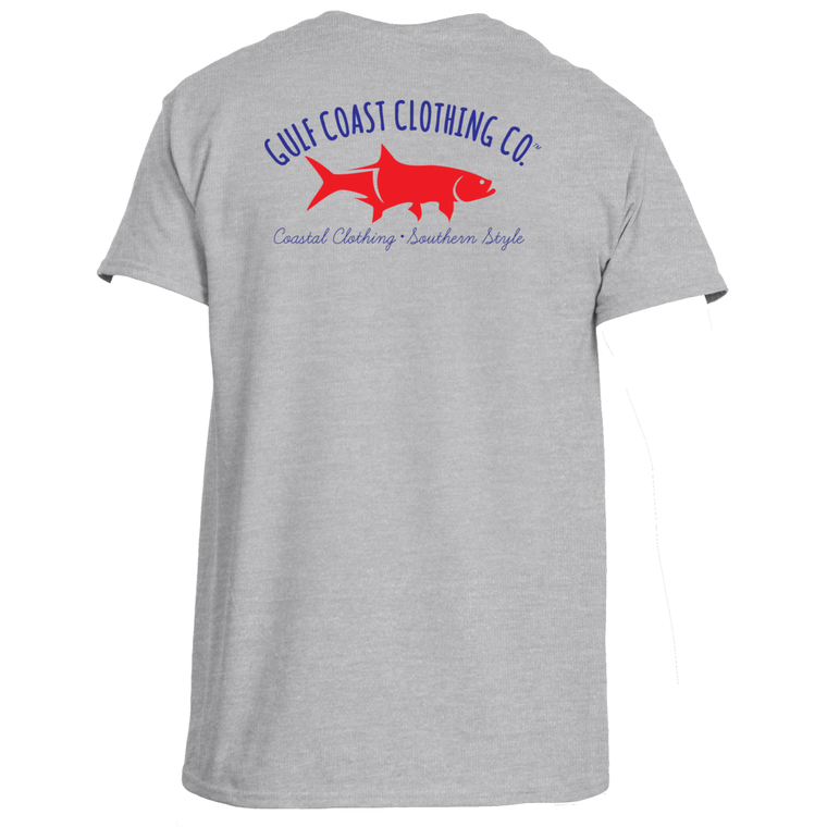 Gulf Coast Clothing Co. Mens All-American Coast Tee