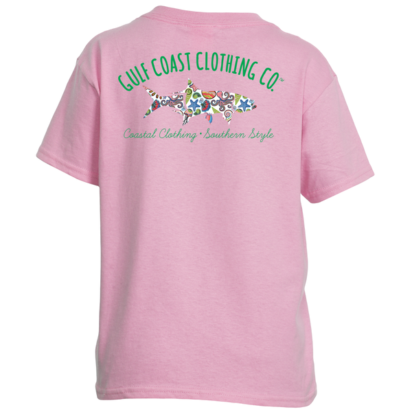 Gulf Coast Clothing Co. Kids Sealife Tarpon Tee