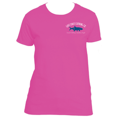Gulf Coast Clothing Co. Ladies Logo Tarpon Tee