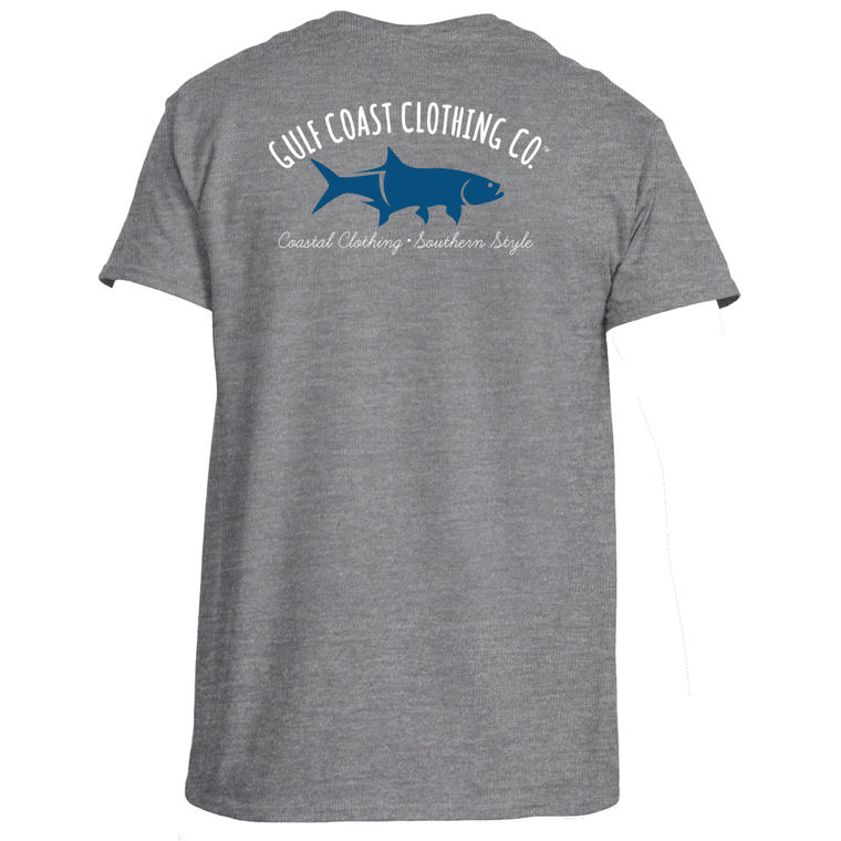 Gulf Coast Clothing Co. Mens Tarpon Logo Tee