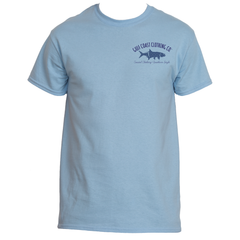 Gulf Coast Clothing Co. Greek Varsity Collection Fleur Tee