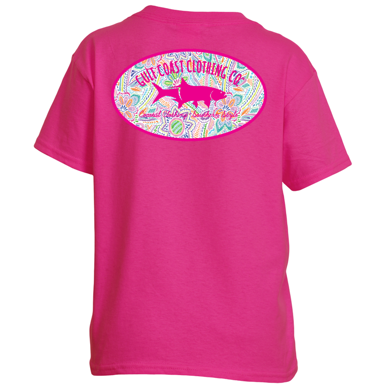 Gulf Coast Clothing Co. Kids Coastal Floral Tee