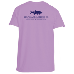 Gulf Coast Clothing Co. Coast Club Sunset Purple Tee