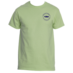 Gulf Coast Clothing Co. Coast Club Collection Pistachio Tee