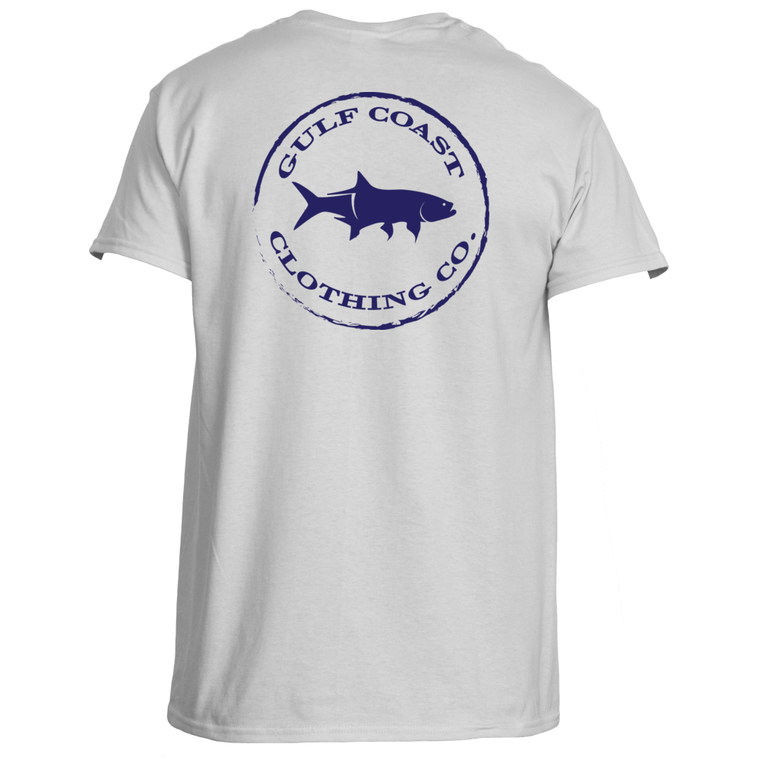 Gulf Coast Clothing Co. Authentic Gulf Coast White Tee