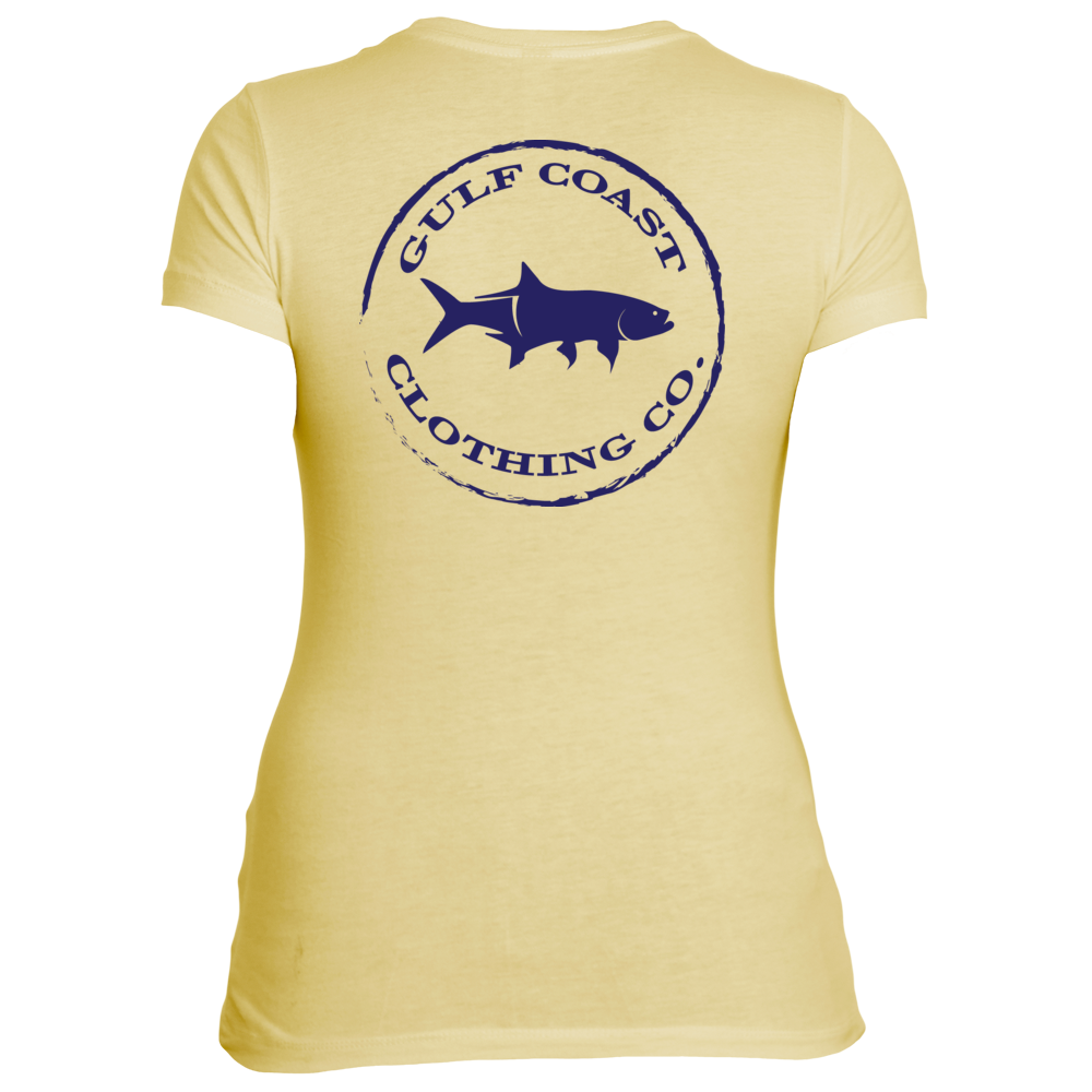 Gulf Coast Clothing Co. Ladies Authentic Gulf Coast Tee