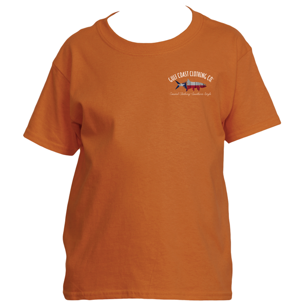 Gulf Coast Clothing Co. States Collection Kids Texas Forever Tee