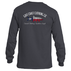 Gulf Coast Clothing Co. States Collection Unisex Texas Strong Long-Sleeve Tee