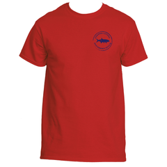 Gulf Coast Clothing Co. Coast Club Sailboat Red Tee