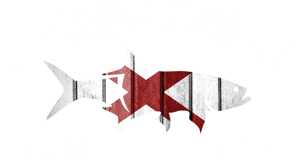 Gulf Coast Clothing Co. States Collection Ladies Alabama Coast Tee