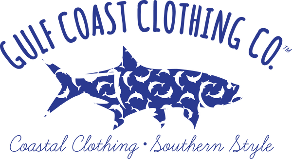 Gulf Coast Clothing Co. Greek Varsity Collection Dolphin Tee