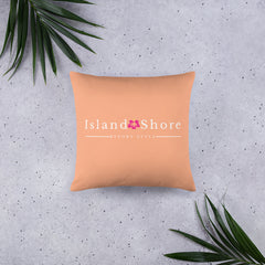 Island Shore Beach Pillow