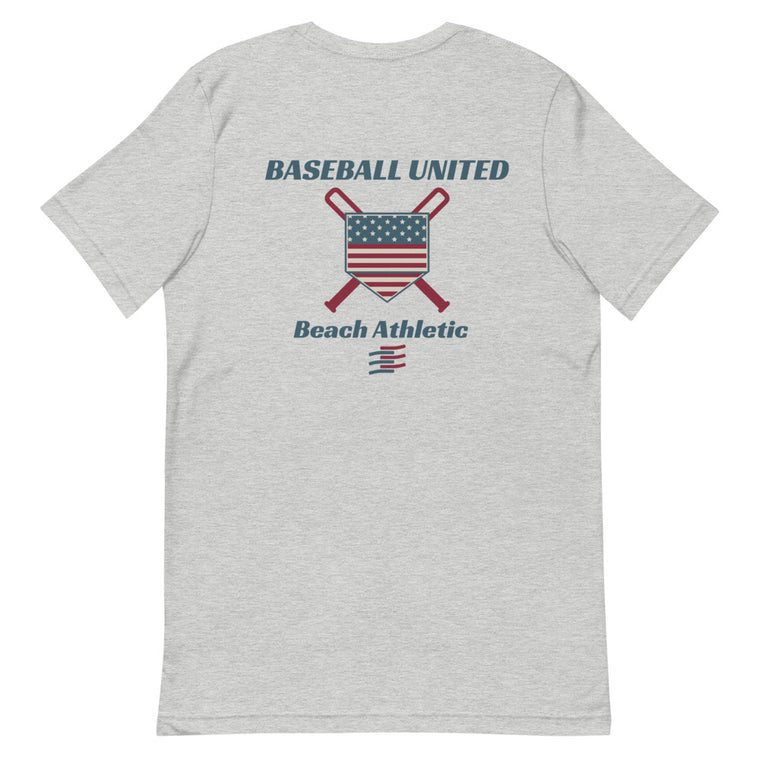 Beach Athletic Baseball United Short-Sleeve T-Shirt