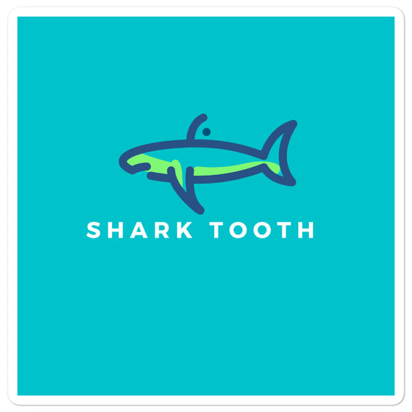 Shark Tooth Stickers