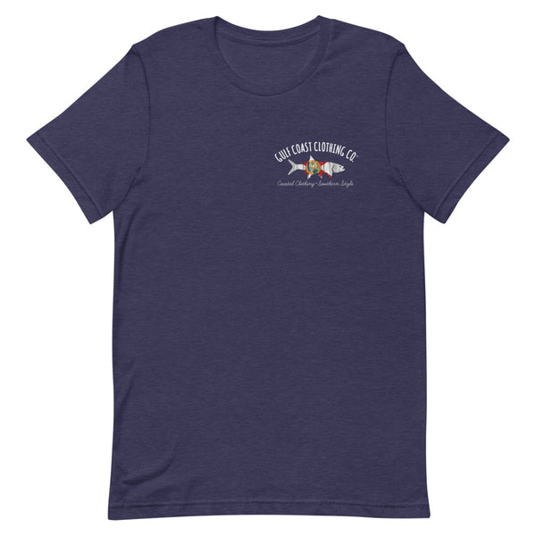 Gulf Coast Clothing Co. Florida Home Short-Sleeve T-Shirt