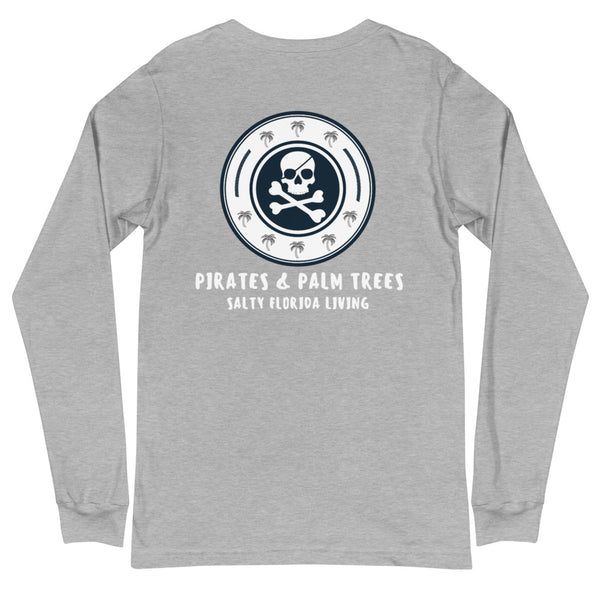Pirates & Palm Trees Long Sleeve Tee