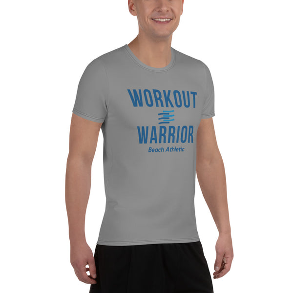 Beach Athletic Workout Warrior Men's Athletic T-shirt