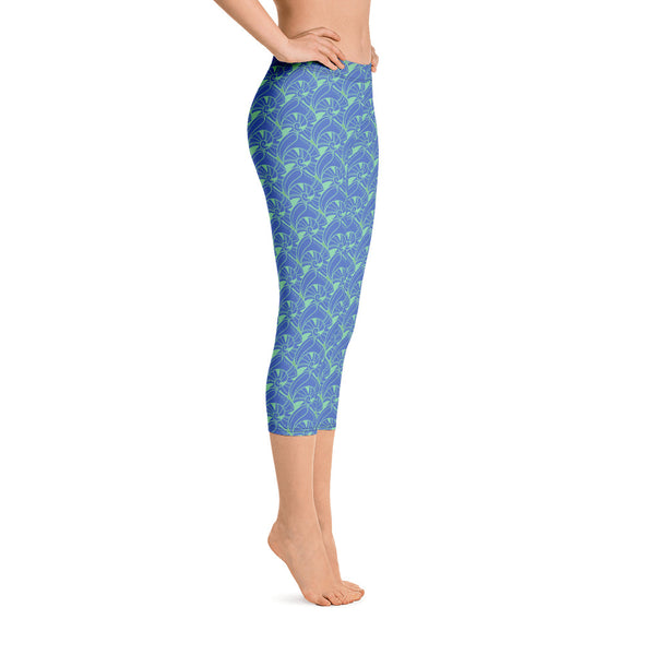 Island Shore Hope Shell Capri Leggings