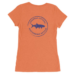 Gulf Coast Clothing Co. Authentic Ladies Short Sleeve T-Shirt