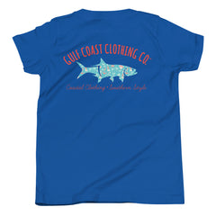 Gulf Coast Clothing Co. Coastal Shore Youth Short Sleeve T-Shirt