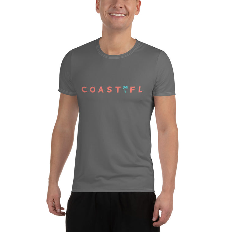 CoastFL Men's Athletic T-shirt