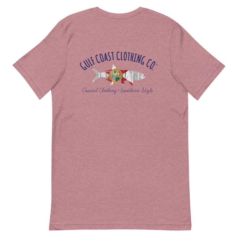 Gulf Coast Clothing Co Florida Home Short-Sleeve Ladies T-Shirt