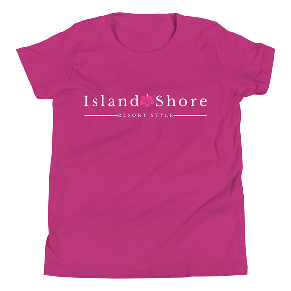 Island Shore Girls Youth Short Sleeve T-Shirt