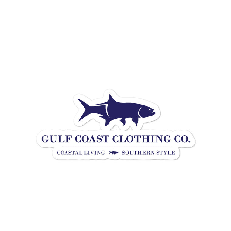 Gulf Coast Clothing Co Stickers