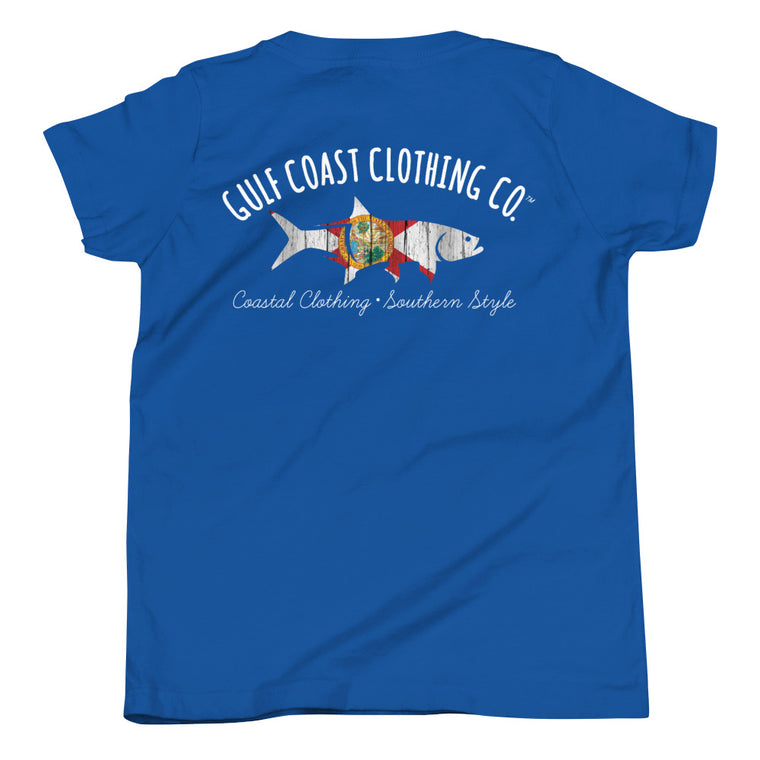 Gulf Coast Clothing Co. Youth Florida Short Sleeve T-Shirt