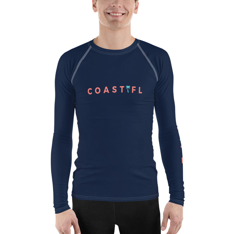 CoastFL Men's Rash Guard