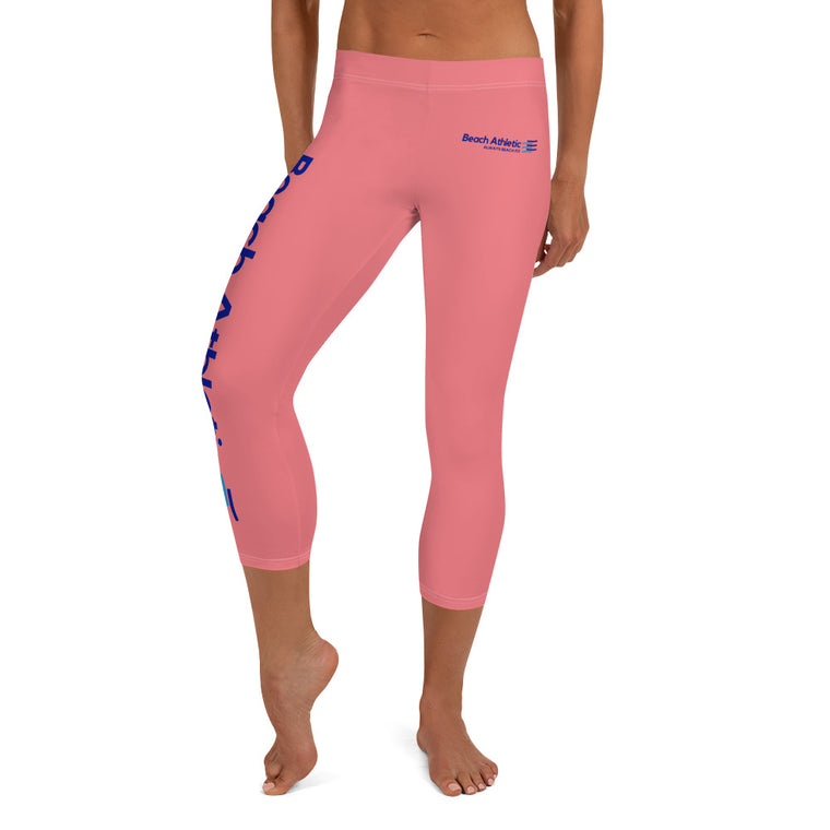 Beach Athletic Performance Capri Leggings