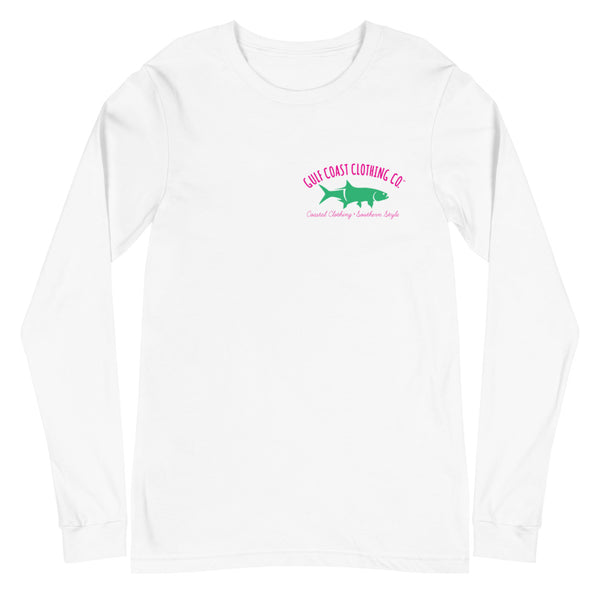 Gulf Coast Clothing Co. Ladies Long Sleeve Tarpon Tee