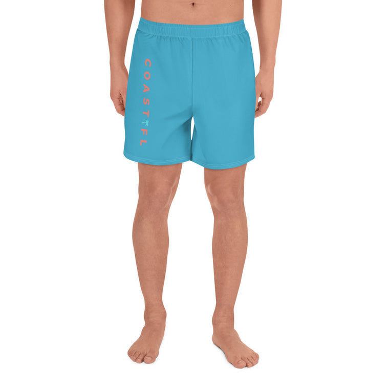 CoastFL Men's Athletic Long Shorts