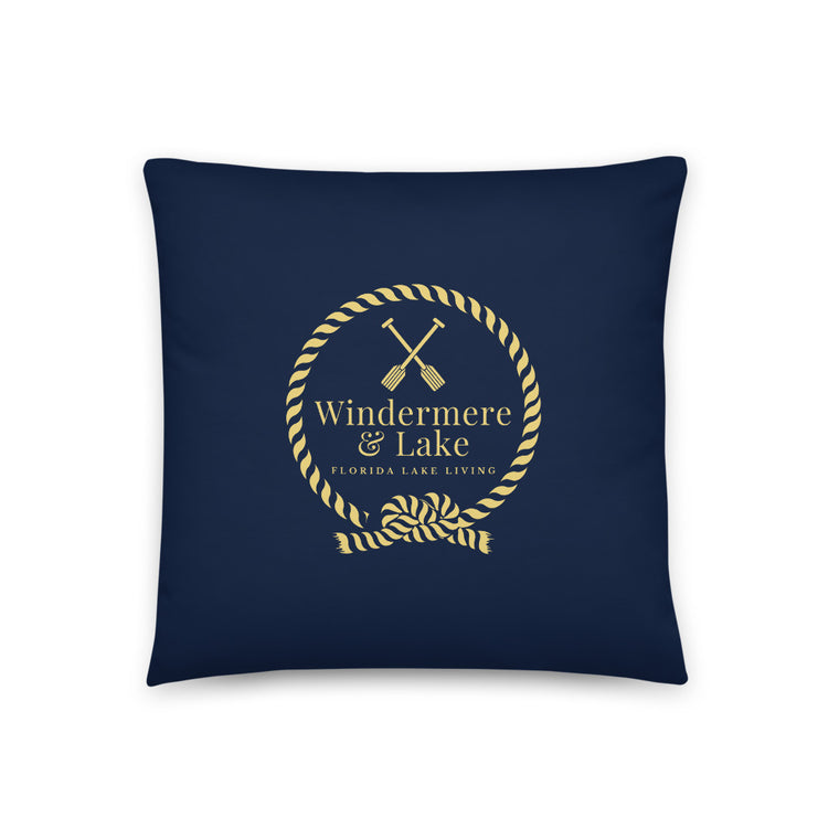Windermere & Lake Throw Pillow
