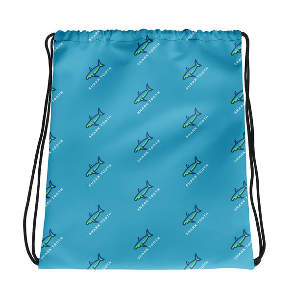 Shark Tooth Drawstring Bag