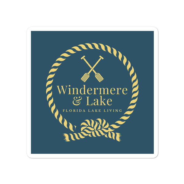 Windermere & Lake Stickers