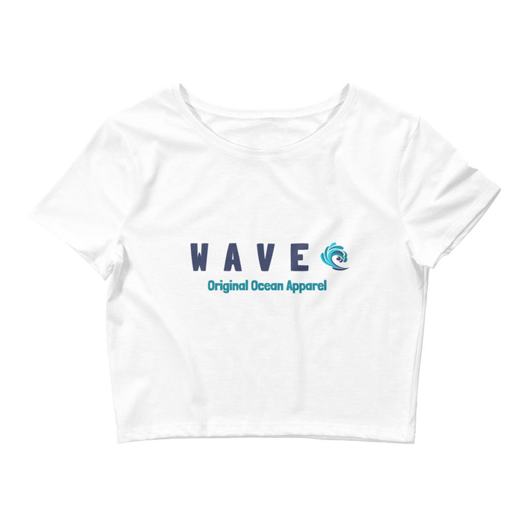 WAVE Ladies Crop Tee