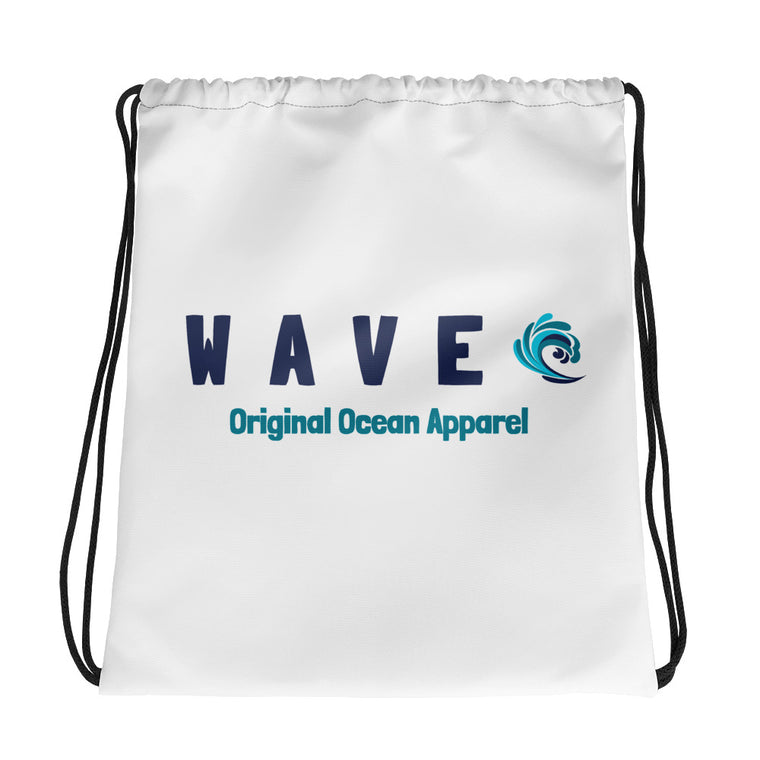 WAVE Drawstring Bag