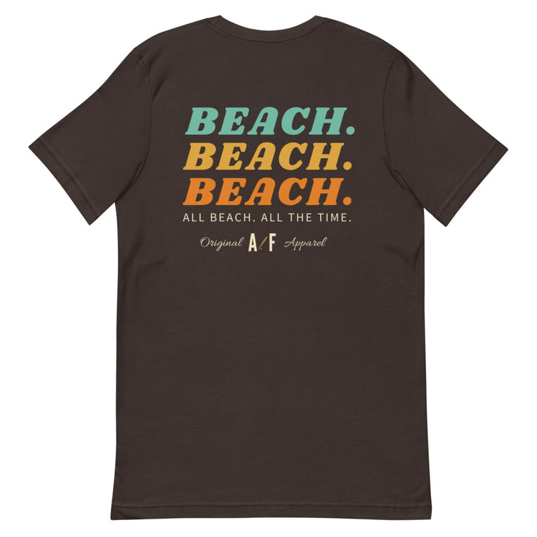 AF All Beach Short-Sleeve Mens T-Shirt