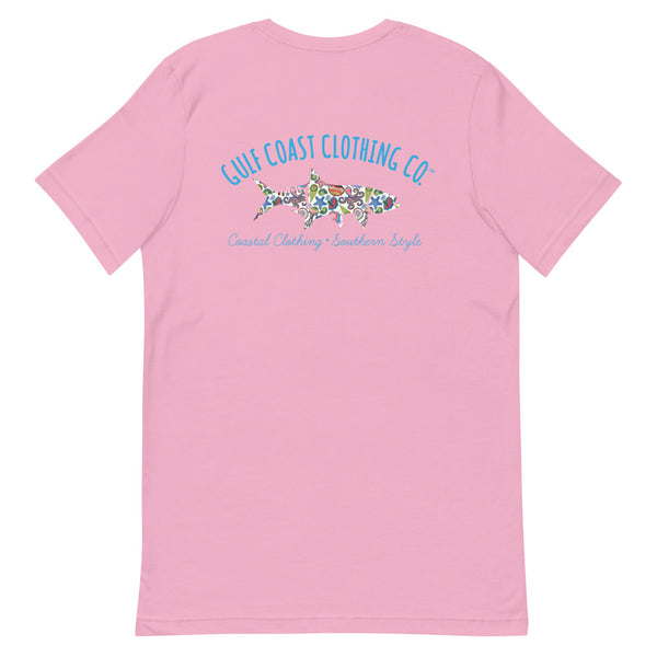 Gulf Coast Clothing Co. Sealife Short-Sleeve Ladies T-Shirt