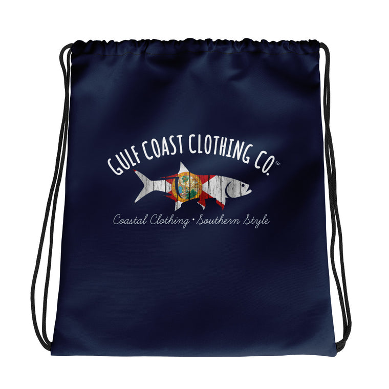 Gulf Coast Clothing Co. FLorida Drawstring bag