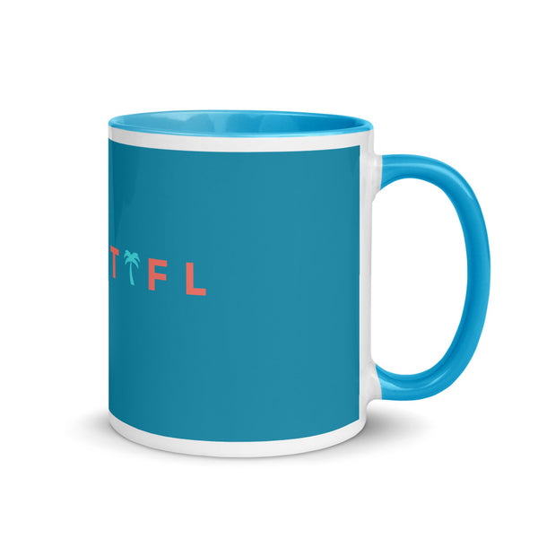 CoastFL Mug with Color Inside