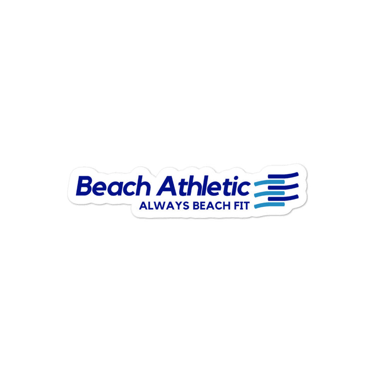 Beach Athletic Stickers
