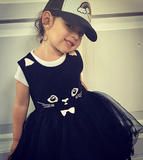 Black Kitty Tutu Dress