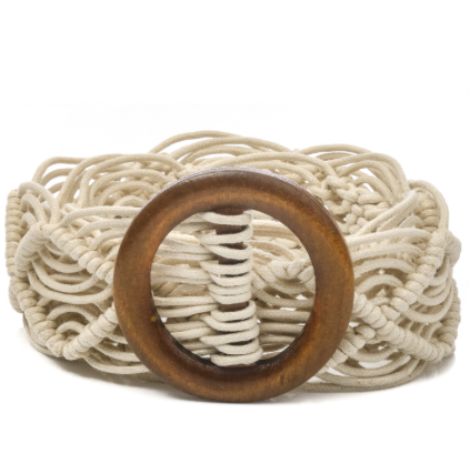 Summer Dreaming Macrame Belt