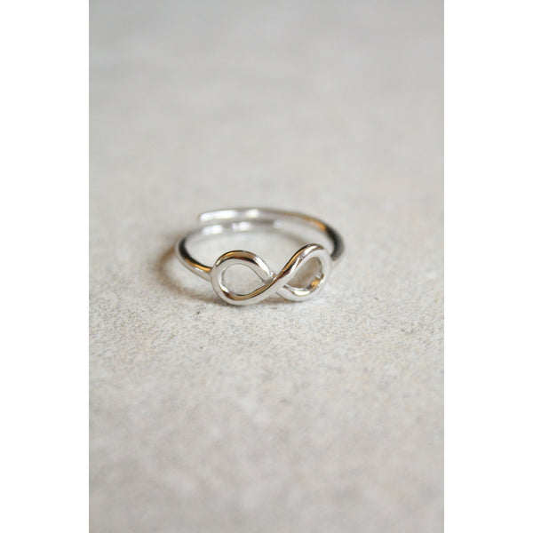 Sterling Silver Infinity Ring Wire Work