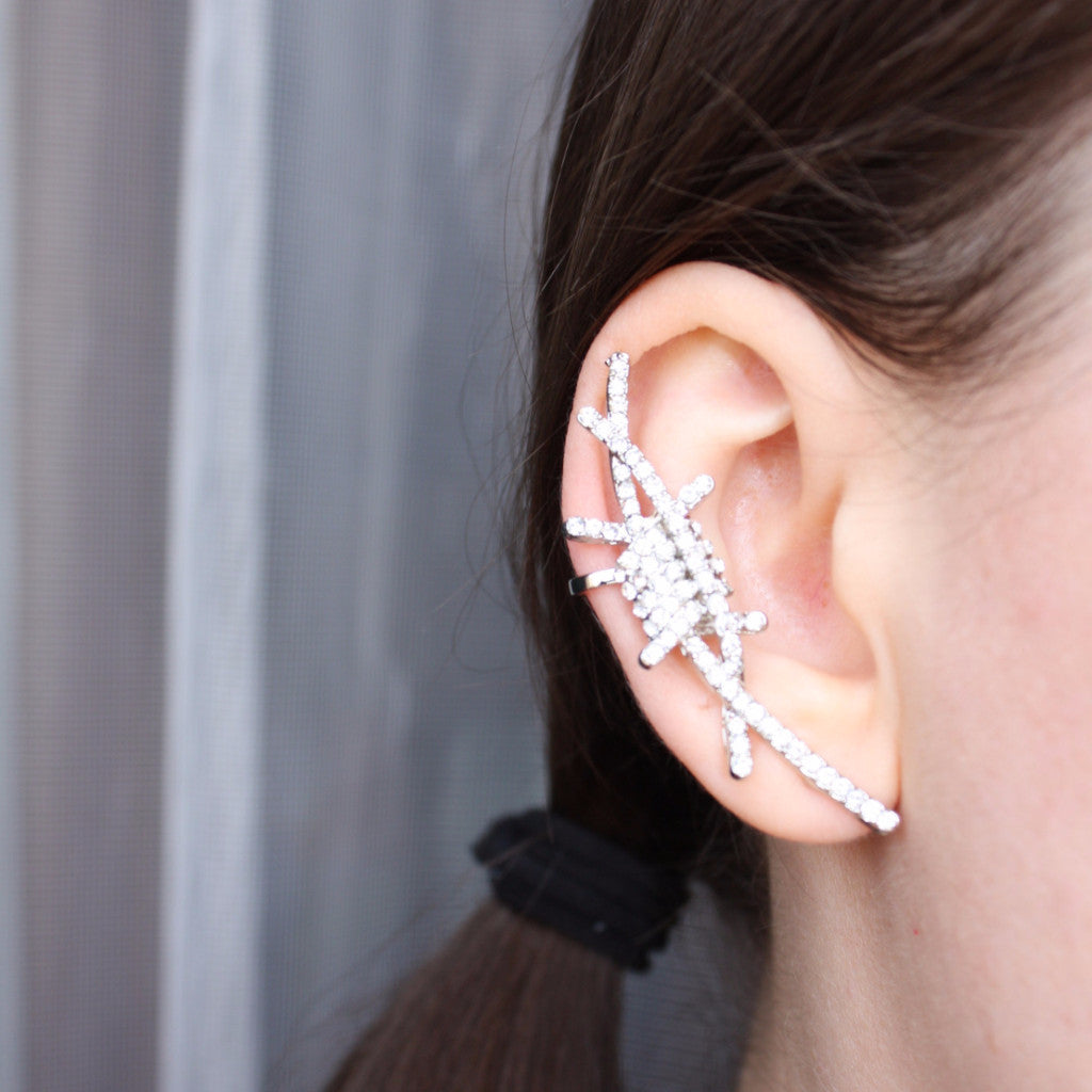 Barbed Wire Ear Cuff