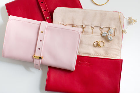 Jetsetter Wallet Crossbody Bag - Ruby Sky
