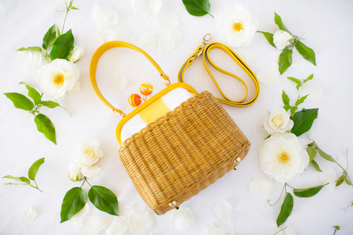 Mini Jill Wicker Basket