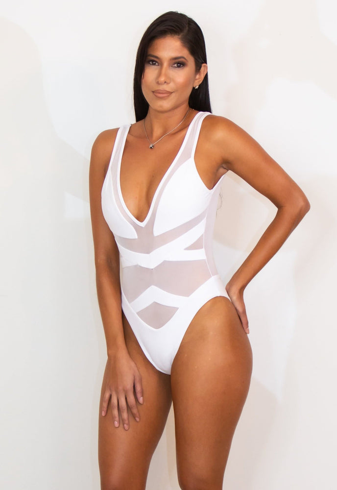 Rose One Piece Swimwear